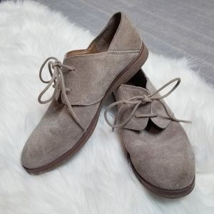 Franco Sarto - Suede flat shoes in beige
